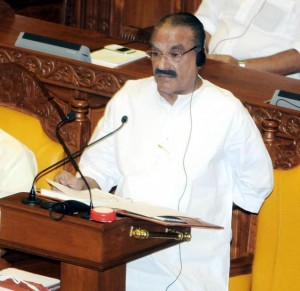 KM Mani, Finance Minister presenting the Kerala Budget