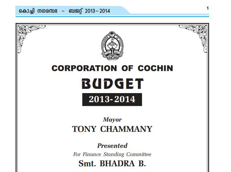 Corp Budget
