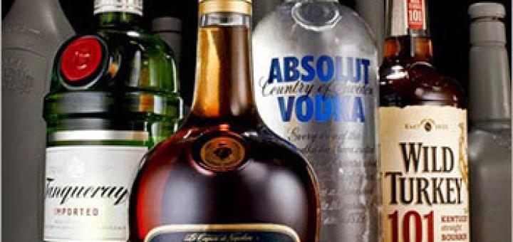 Liquor-Glass-Bottles