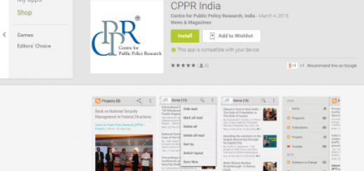 CPPR mobile app