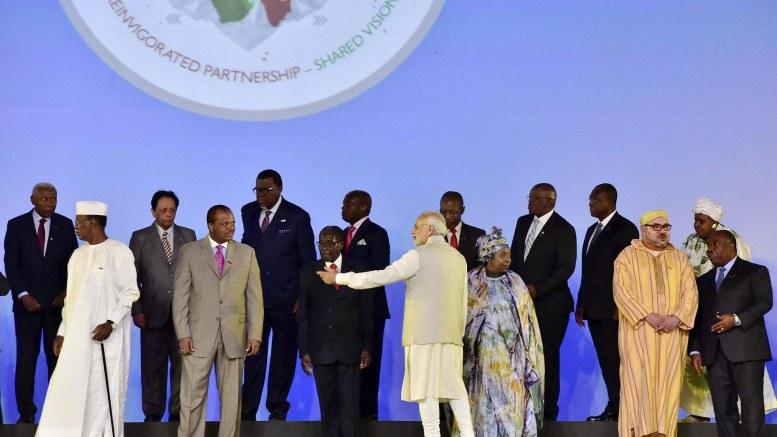 India Africa Forum Summit in Delhi