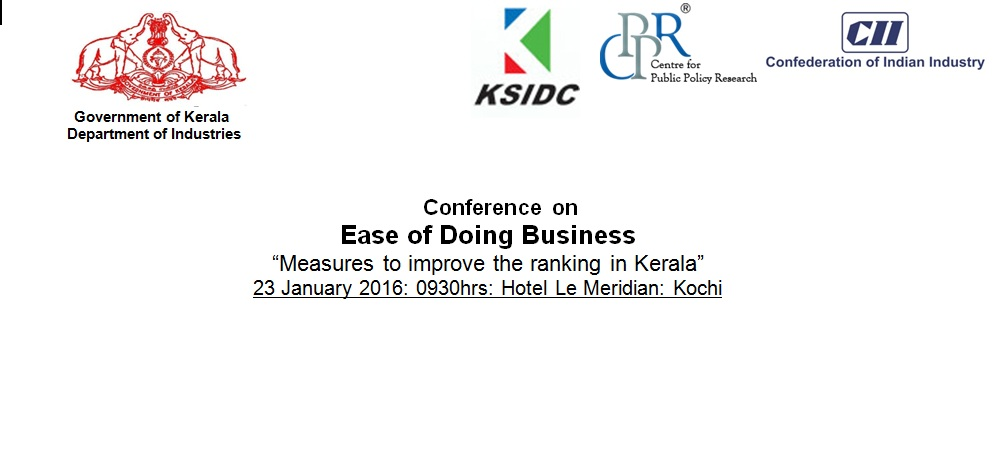 Kerala_Ease of Doing in Business