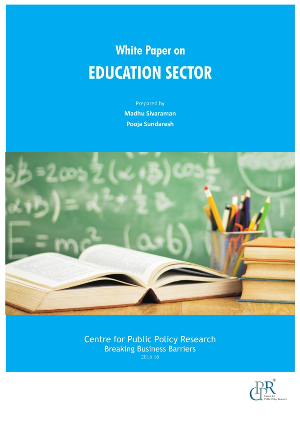white paper on education This white paper examines the evidence for the growing need and importance of career & technical education (cte) through 2022, many of the fastest-growing and.