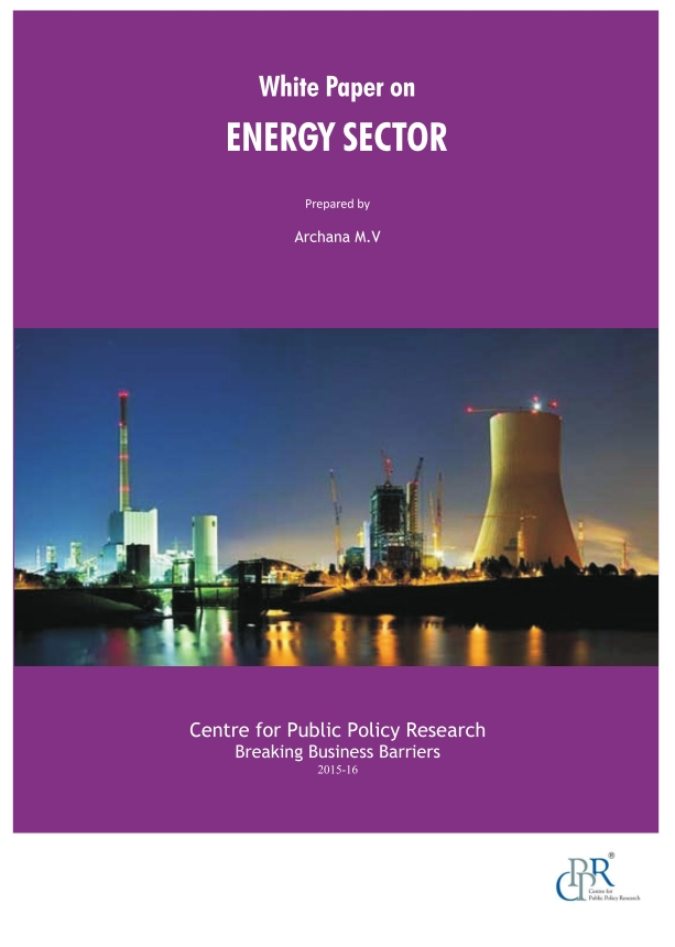 Energy Sector White Paper