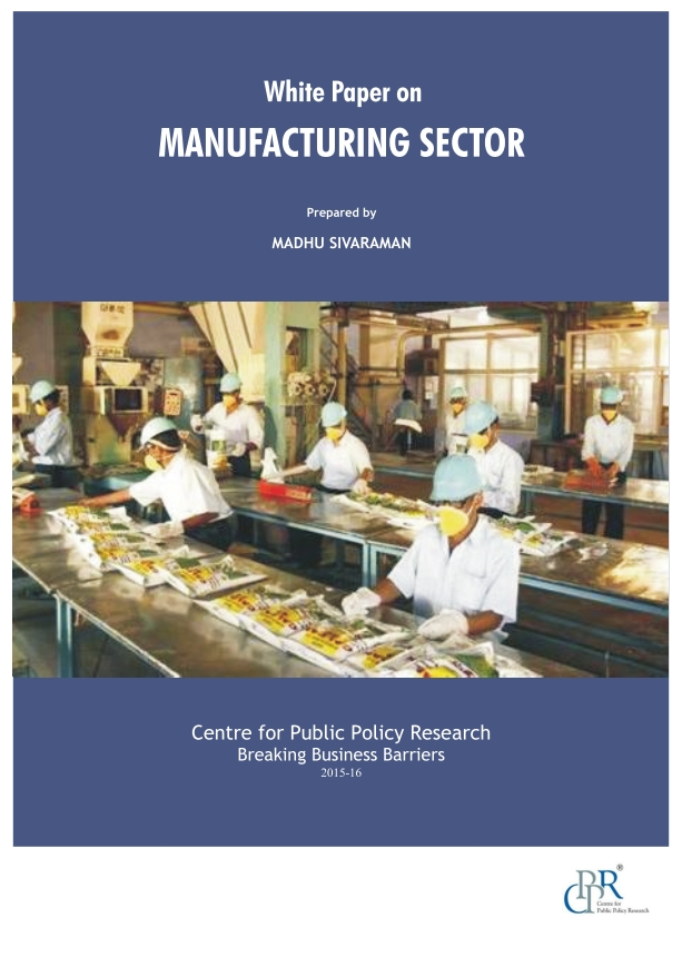 Manufacturing Sector White Paper