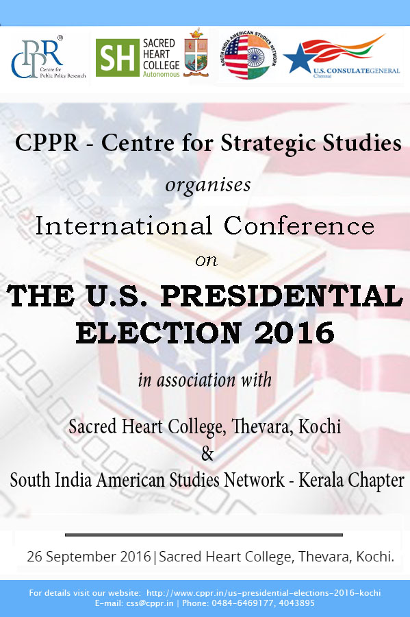International Conference on The US Presidential Election 2016(edited)