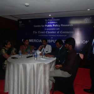 Commercial Dispute Resolution Workshop - Mock Mediation- Chennai