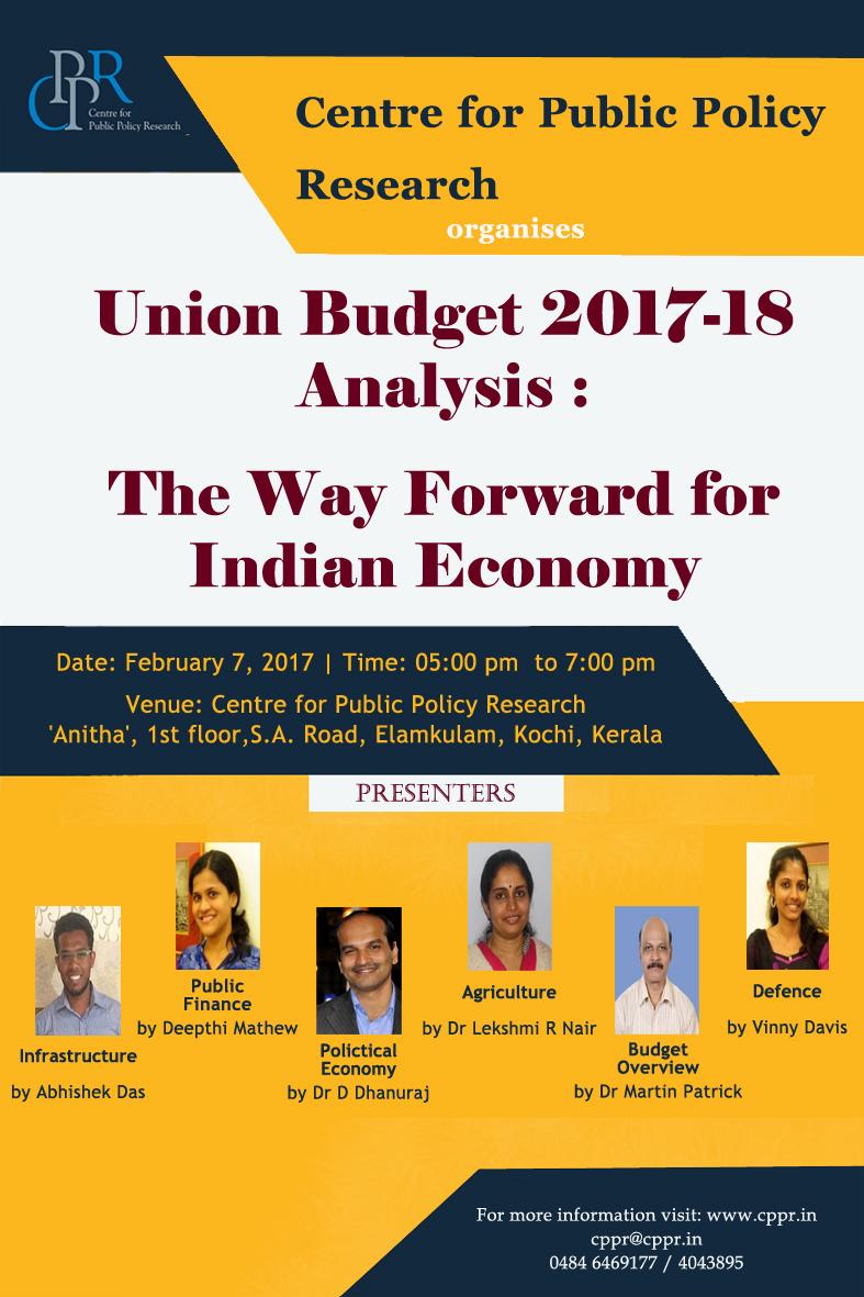 Indian budget analysis