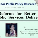 Talk on Reforms for Better Public Service Delivery1