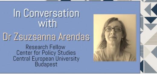 In conversation with Zsuzsanna Arendas