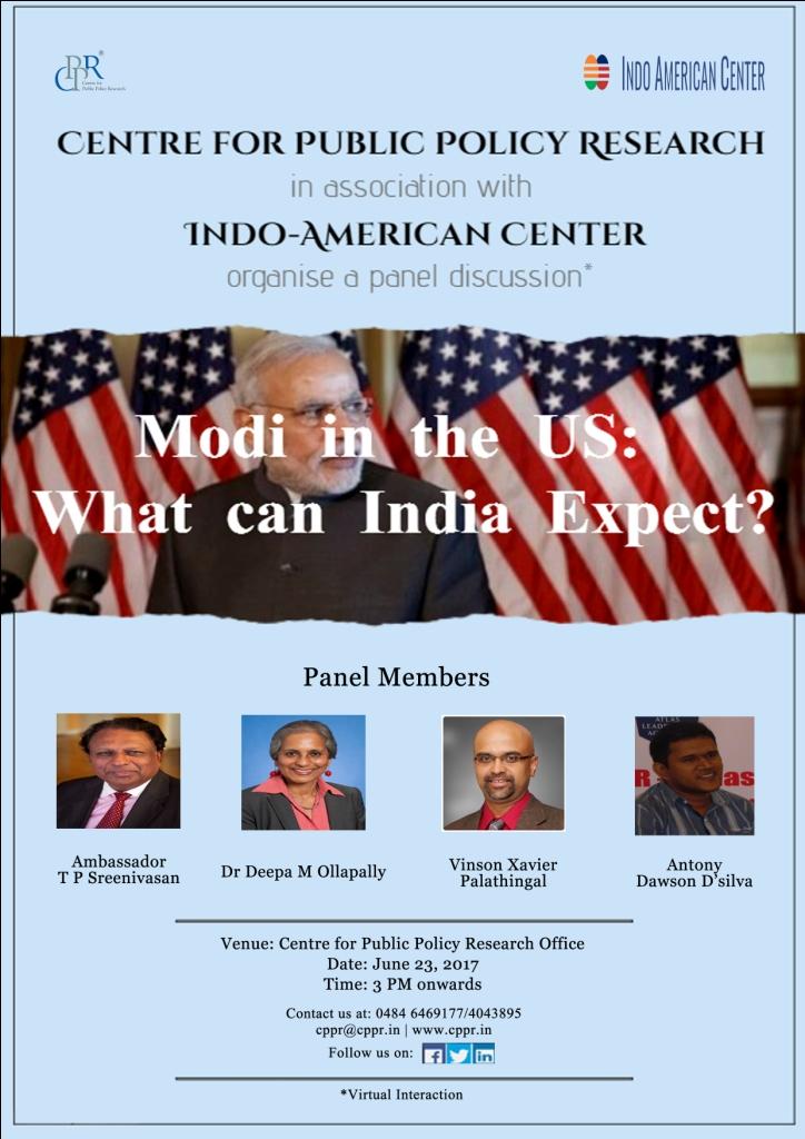 Modi in USA Pstr