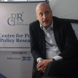 Dr Alexander Evans, British Deputy High Commissioner to India, at CPPR Office