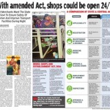 Shops and Establishment Times of India
