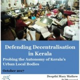 Defending Decentralisation in Kerala