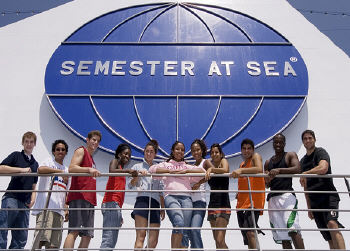 Semester at Sea students