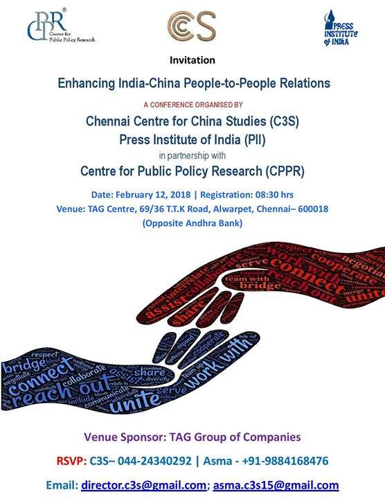 Conference_Enhancing India-China People-People Relations