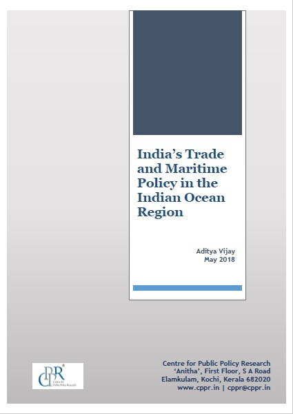 India's Trade and Maritime Policy in the Indian Ocean Region