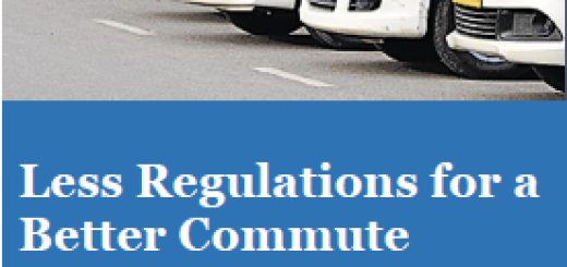 Less Regulations for a Better Commute