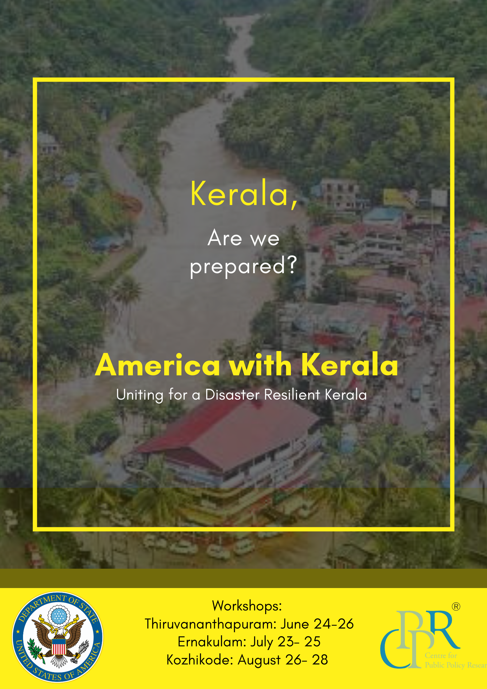 America with Kerala: Event in Kochi - Centre for Public Policy