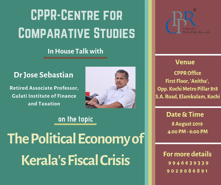 The Political Economy of Kerala's Fiscal Crisis