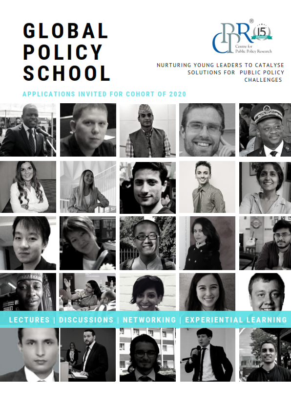 Click to Download Global Policy School 2020 Brochure